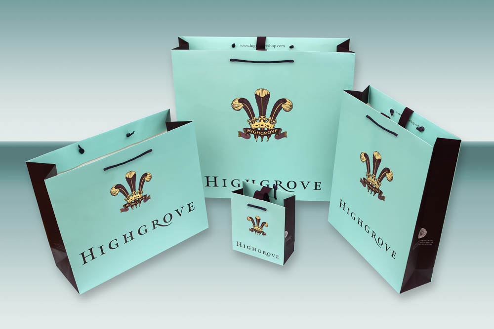 Highgrove Art-Paper Bag