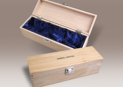 10. Wipro wooden box